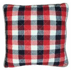 "Kussen van geruit katoen 50x50 cm ""chequered cushion"""