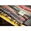 "Teppich Lederbänder 90x175cm ""leather ragrug"""