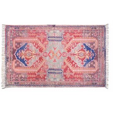 "Printed cotton rug 180x280cm L ""printed rug large"""