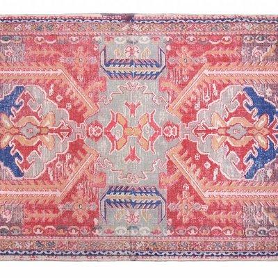 """Vloerkleed geprint katoen L 180x280cm, """"printed rug large"""""""