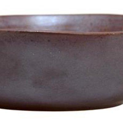 """Handgemaakte schaal van keramiek Set van 6 19x16x5,5cm """"Handmade ceramic bowl"""""""