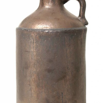 Bog stoneware jar 28x28x47cm