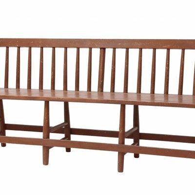 """Holzbanke """"wooden cafe bench"""" 180x50x81cm"""