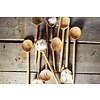 "Lepel ovaal olijvenhout 8x34cm ""olive wood spoon oval"""