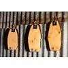 """Breadboard eco alder natural 30-35cm """"board with bark"""""""