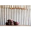 """Handgefertigte Keramik-Tasse Set von 6 13x10x6,5cm """"Handmade ceramic cup"""""""