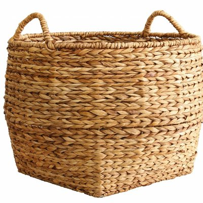 "Basket ""banana leaves basket"" 61x61x56cm"