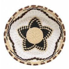 "Scale Recycled Paper ""native woven basket m"" 35cm"
