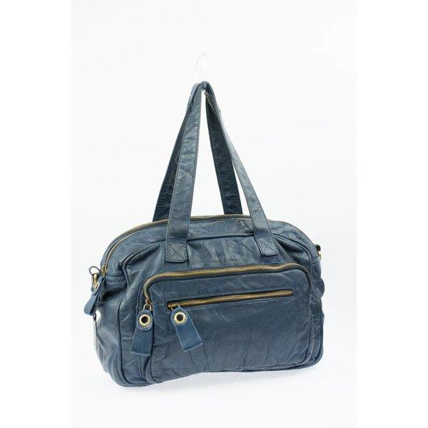 Stijlvolle blauwe Medium Bag