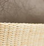 Bulaggi Bruine duotone tas met stro-look