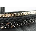 Bulaggi Zwarte Chain Deco Shopper