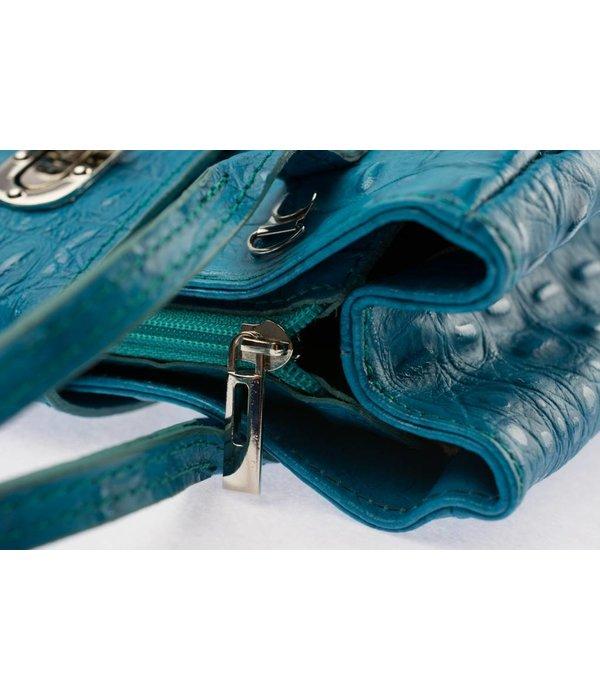 Sahdia Leuke blauwe handtas