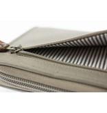 Berba Grijze dames portemonnee