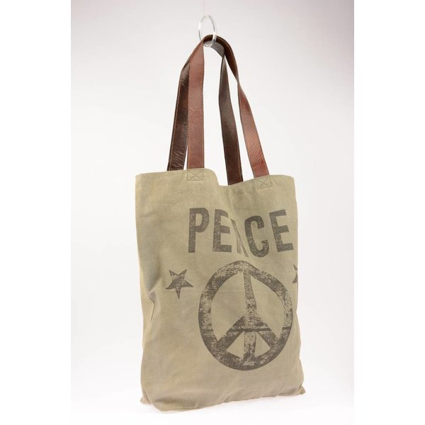 Vintage canvas tote bag