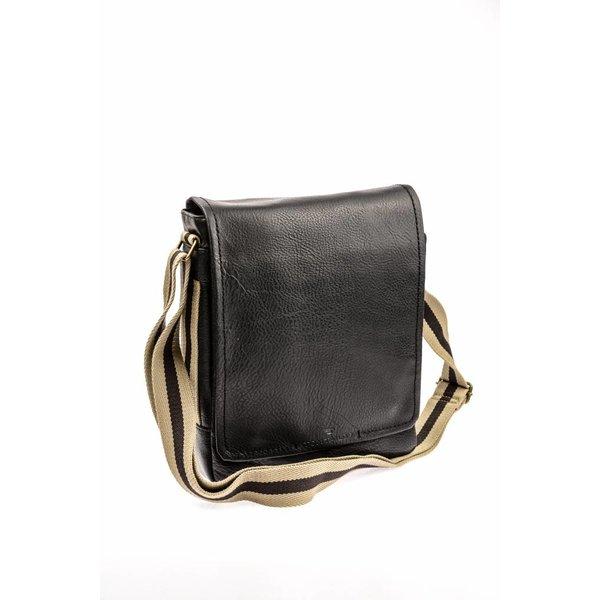 Mooie zwarte messenger bag