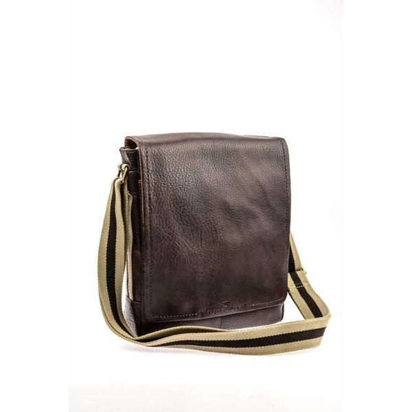 Mooie bruine messenger bag