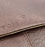 Tom Tailor Bruine Kentucky messenger bag met veel opbergruimte
