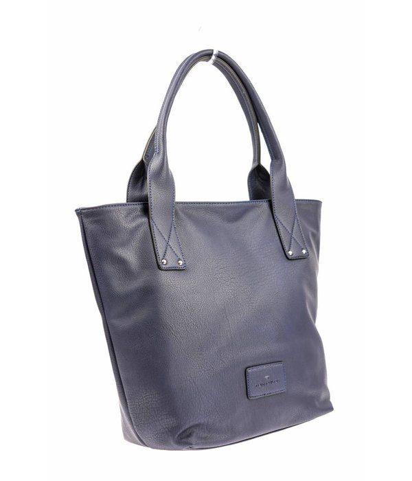 Tom Tailor Blauwe dames tijdloze shopper