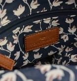 Tom Tailor Rood-wit-blauwe colourblocking dames schoudertas