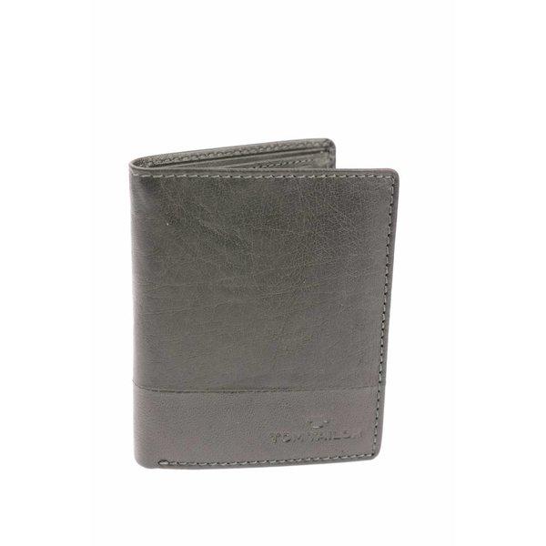 Theo portemonnee heren zwart verticaal