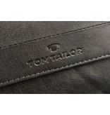 Tom Tailor Zwarte Theo portemonnee heren verticaal