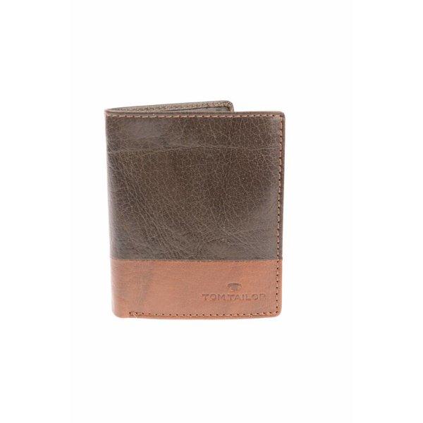 Theo portemonnee heren bruin verticaal