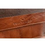 Tom Tailor Bruine Theo portemonnee heren verticaal