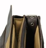 Plevier Bruine 2 vaks aktetas 15.6 inch