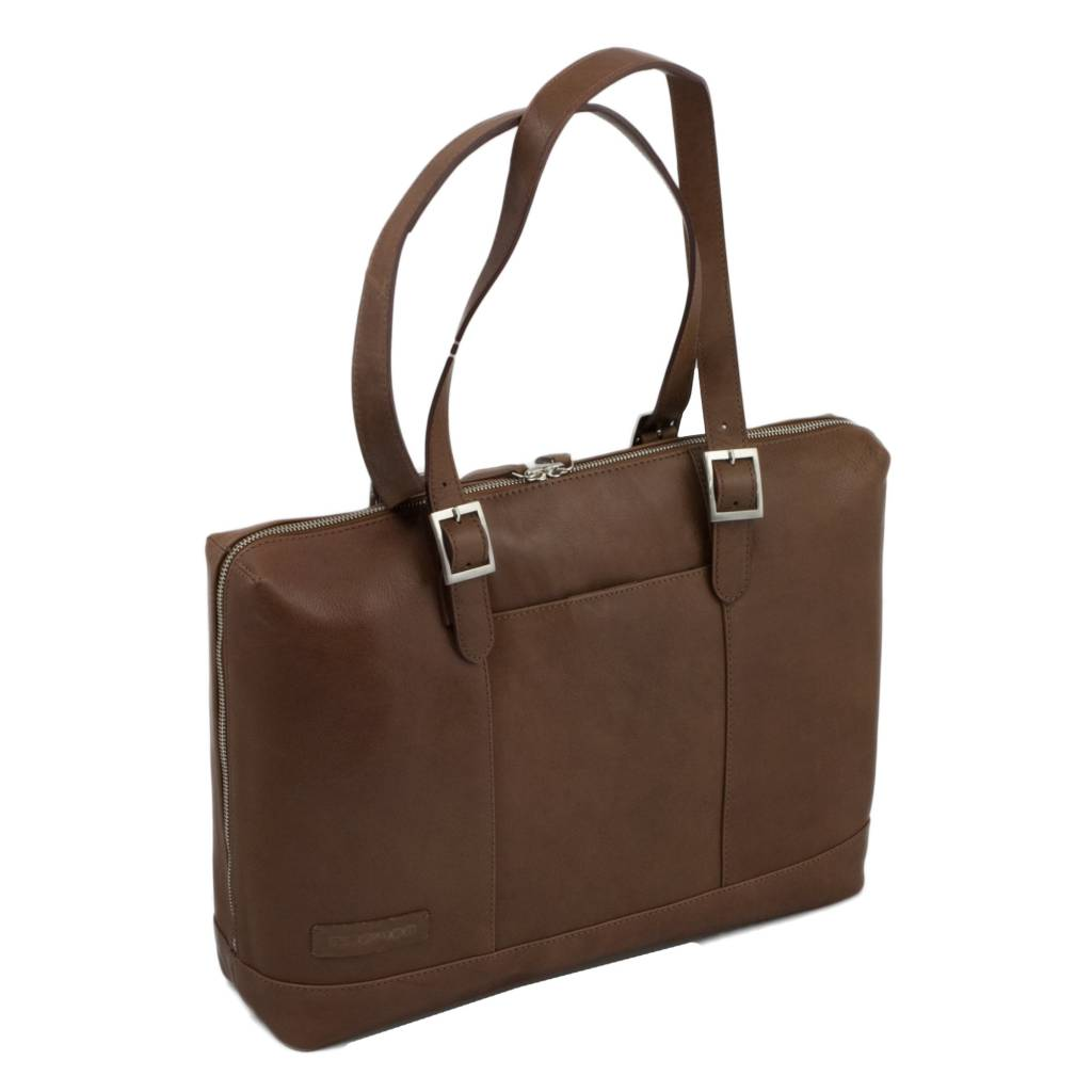 Macbook Tas Dames : Plevier cognac dames aktetas laptoptas inch