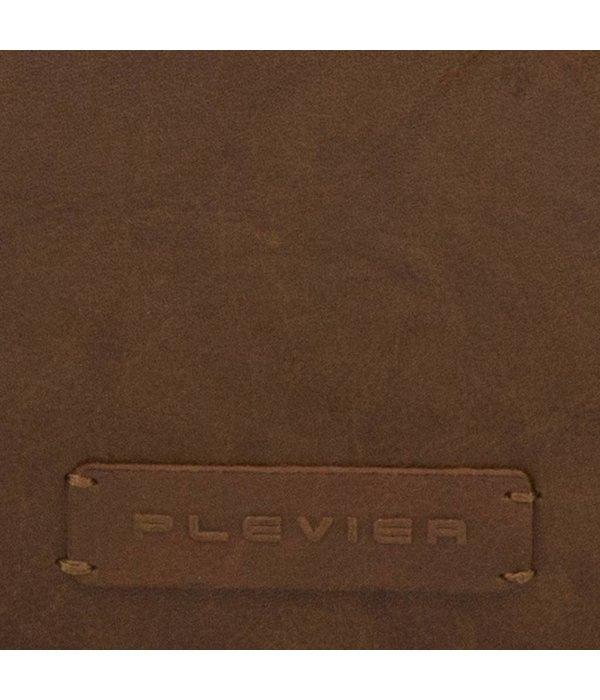 Plevier Cognac dames 803 laptoptas 15.6 van Plevier