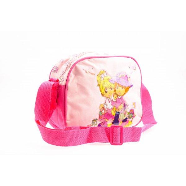 Roze schoudertas voor meisjes
