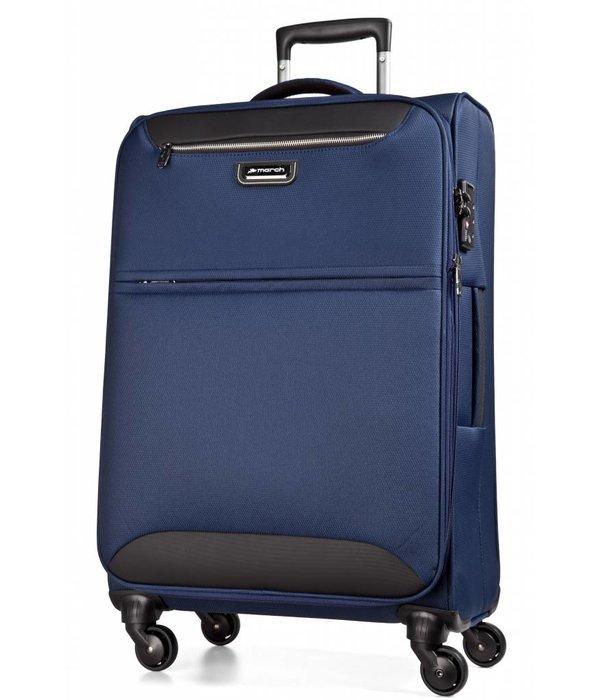 March15 Flybird kofferset Blauw