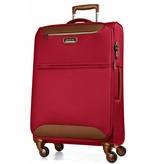 March15 Flybird kofferset Rood/Bruin