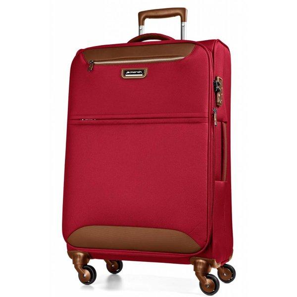 Flybird kofferset Rood/Bruin