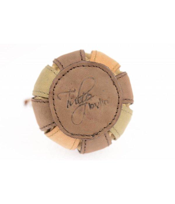 Bylin Unieke vintage mini tulp sleutelhanger meerdere kleuren