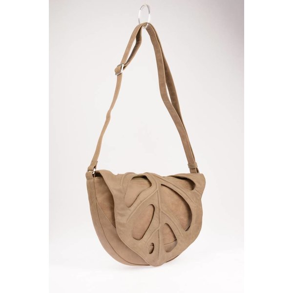 Jungle Leaf tas taupe