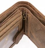 GreenBurry praktische vintage heren portemonnee