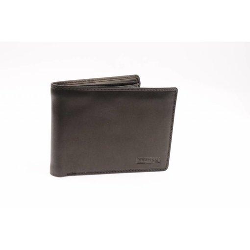Branco Lederwaren portemonnee heren zwart