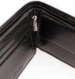 Branco Lederwaren Zwarte heren portemonnee