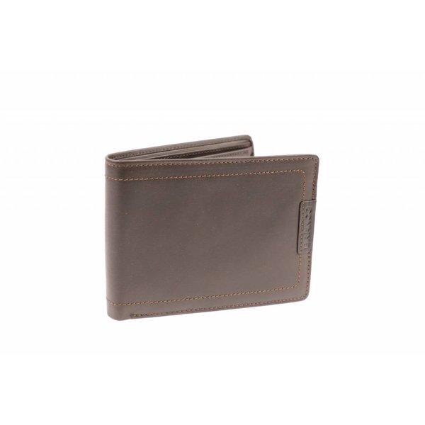 Vintage portemonnee heren Bruin