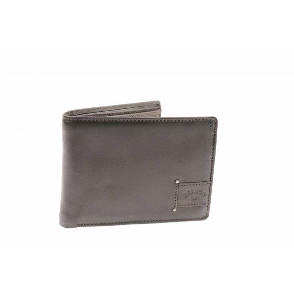 Praktische portemonnee heren bruin