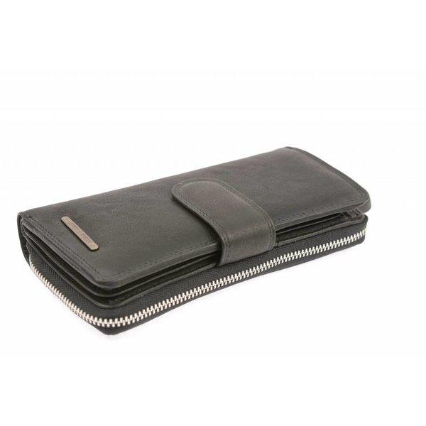 Zwarte dames portemonnee