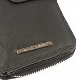 GreenBurry Zwarte dames portemonnee colorado