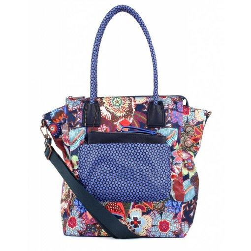 Oilily Kiwano shopper blueberry dames