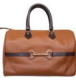 HV Society Speedy bitty bag cognac dames handtas van Hv society