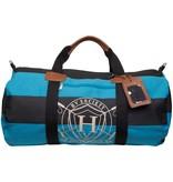 HV Society Canvas sportbag XL tirey lago blue van Hv society