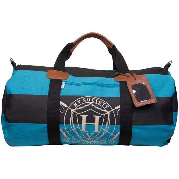 Canvas sportbag XL tirey lago blue