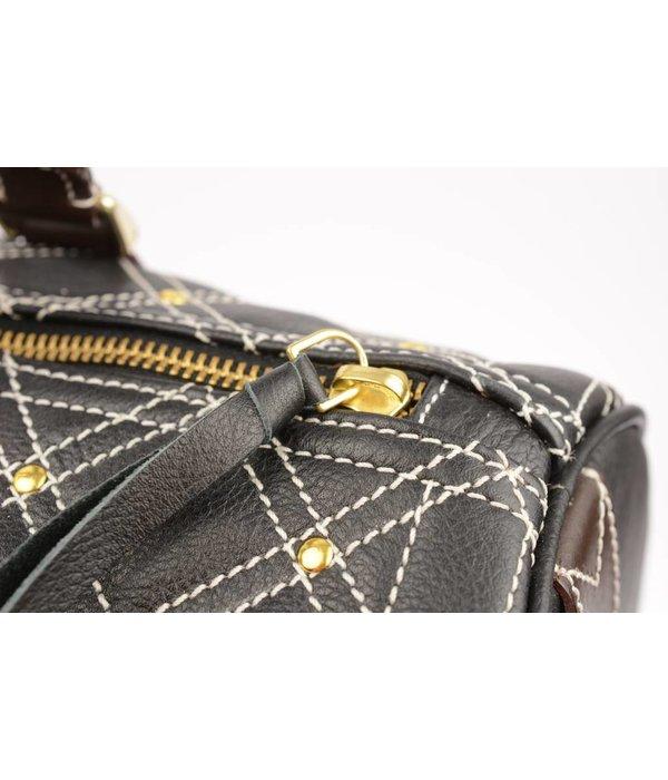 HV Society Speedy studs bag zwart dames handtas van Hv society