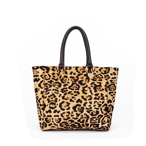 one bag schoudertas wild animal bruin dames