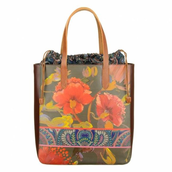 Tote bag Painted Flowers dames